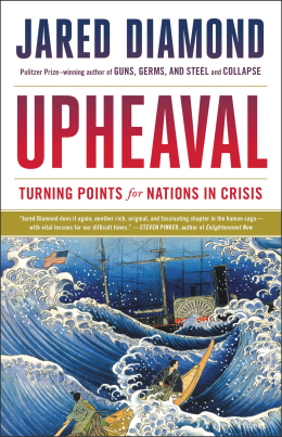 The cover of Upheaval by Jared Diamond